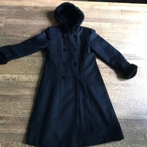 Dr Zhivago style Wool Coat - kids or petite